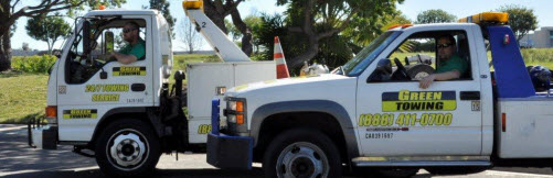Towing Solana Beach