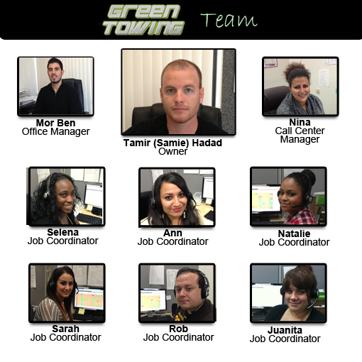 Green Towing team san diego
